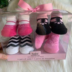 Sassy infant baby socks